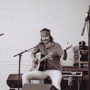 Kari Peitsamo Ämyrockissa vuonna 2006
