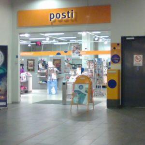 Postin toimipaikka Rovaniemellä