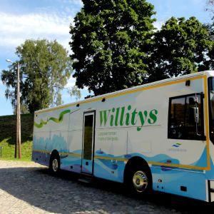 Kirjastoauto Willitys