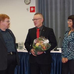 Matti Rönkkö, Arto Nykänen ja Eeva Pekonen