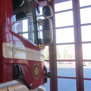 Paloauto tallissa