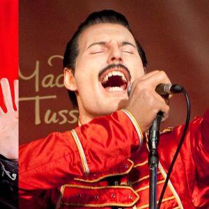 Michael Jackson ja Freddie Mercury.