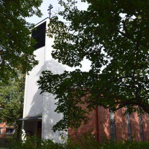 Hämeenlinnan ortoksinen kirkko on moderni rakennus vuodelta 1962.