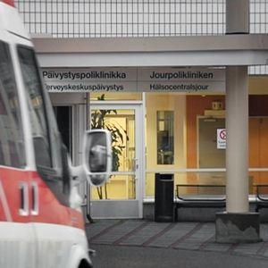 Peijaksen sairaalan päivystyspoliklinikka Vantaalla.