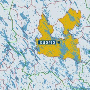 Kuopion kartta