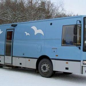 Tammelan kirjastoauto Ilves