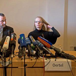 Lutz Bachmann  ja Kathrin Oertel.