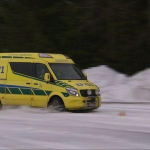 Ambulanssit harjoittelivat ajoa Vetelin Kemoralla.