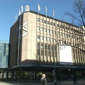 Tampereen Stockmannin tavaratalon julkisivu