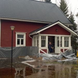 Iijoki tulva Pudasjärvi