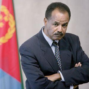 Eritrean presidentti Isaias Afewerki.