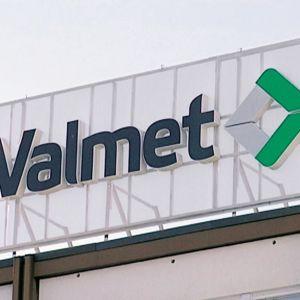 Valmetin logo.