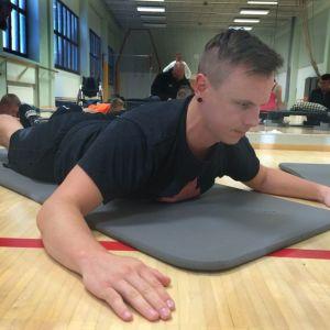 Matti Suur-Hamari Nastola Pajulahti harjoittelua pilates