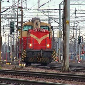 junaveturi raiteilla kouvolassa