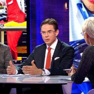 Jyrki Katainen Haloo Eurooppa -ohjelmassa.