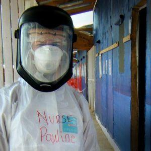 Sairaanhoitaja Pauline Cafferkey sai ebolatartunnan työskennellessään vapaaehtoisena Pelastakaa lapset -järjestön sairaalassa Sierra Leonessa viime vuonna.