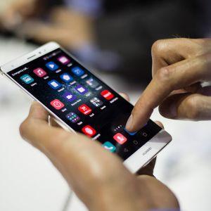 Huawei-älypuhelin.