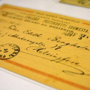 postileima, vanha kirjekuori