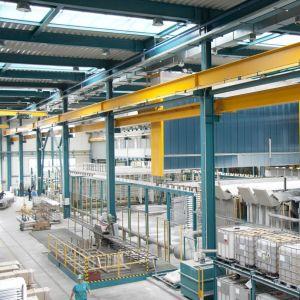 Galvatek on aiemmin toimittanut Slovakiaan alumiinin anodisointilaitoksen.