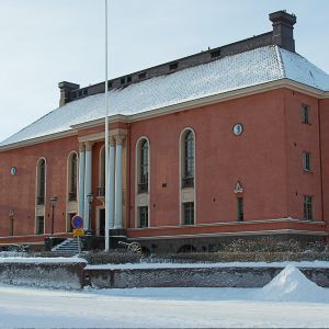 Kokkolan vesitorni ja kaupunginteatteri