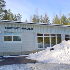 Korvenkylän koulu Joutsenossa