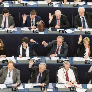 Europarlamentti kokoontuu Ranskan Strasbourgissa