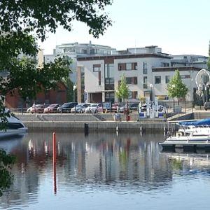 Meritullin venesatama Oulussa.