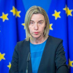 EU:n ulkosuhteista vastaava korkea edustaja Federica Mogherini.