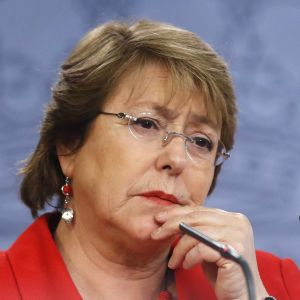 Chilen presidentti Michelle Bachelet.