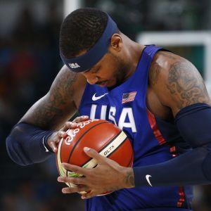 USA:n Carmelo Anthony