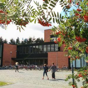 Itä-Suomen yliopiston Joensuun kampuksen kirjasto.