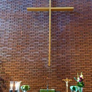 Risti kirkossa kirkko kristinusko alttari