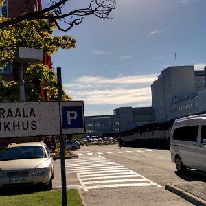 Vaasan keskussairaalan rakennuksia.