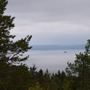 Sotkamon Jormasjärvi Vuokatin vaaralta.
