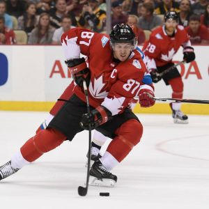 Kanadan kapteeni Sidney Crosby