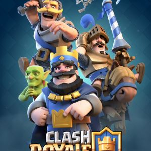 Clash Royale -pelin markkinointikuva.