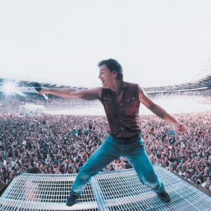 Bruce Springsteen suosionsa huipulla.