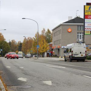 Porokyläntien raitti Nurmeksessa.