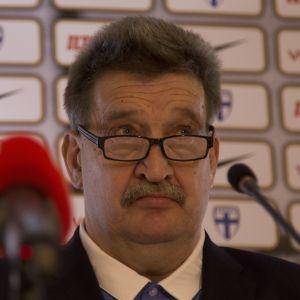 Pertti Alaja, Palloliiton puheenjohtaja