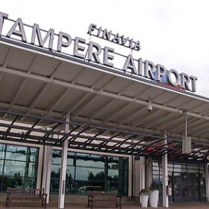 lentokentän sisäänkäynti