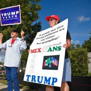 Trumpin kannattajia
