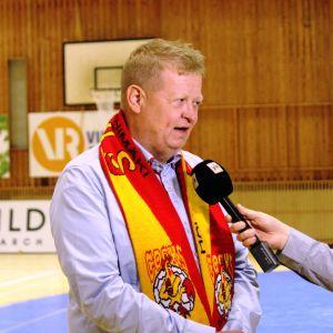 Riihimäen Cocksin puheenjohtaja Jari Viita.