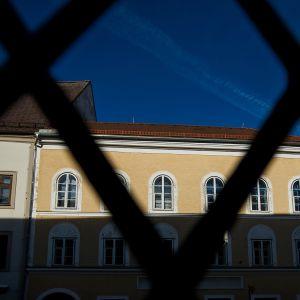 Hitlerin synnyinkoti Braunau am Innissä Itävallassa.
