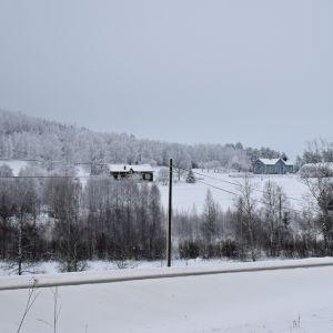 Saarion kylä Tohmajärvellä.