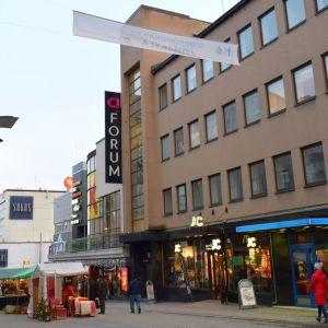Uusi hostelli rakentuu Sokoksen, Jyväskeskuksen ja Forumin naapuriin Kävelykadulla.