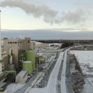 Tarastenjärven jätevoimala.