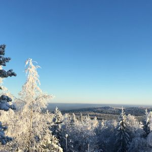 Kivesvaaran luminen maisema
