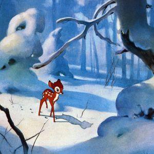 Disney animaatiosta Bambi.