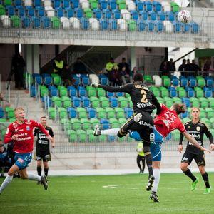 PS Kemi pelaamassa 2016.