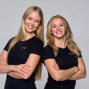 Mikaela Wulff ja Noora Ruskola